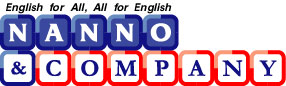 English for All, All for English NANNO & COMPANY